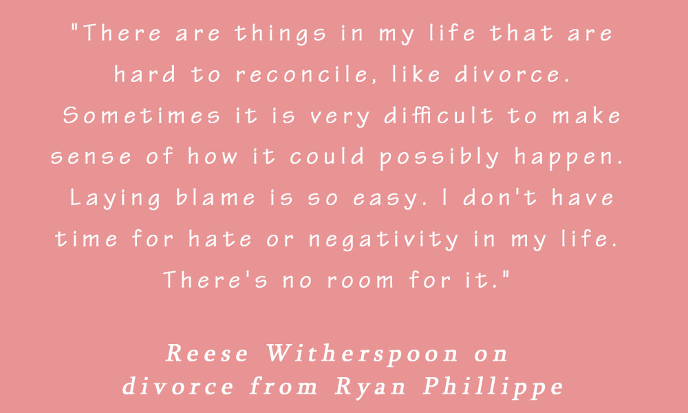 Reese Witherspoon On Divorce