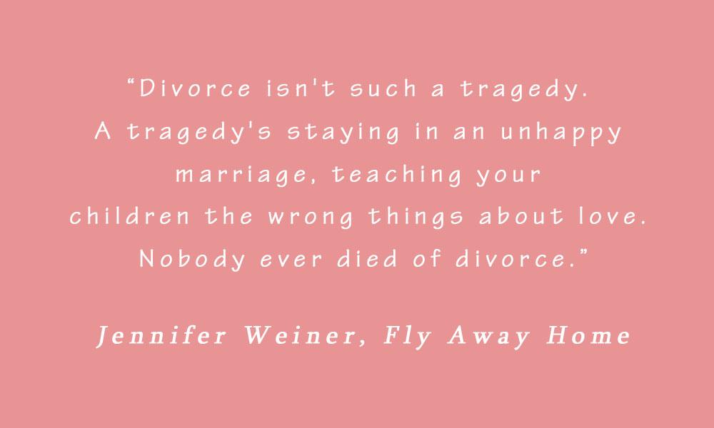 Jennifer Weiner On Divorce